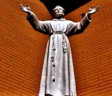 Religious Statue With Hands Re...