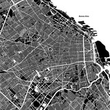 Buenos Aires One Color Map - 138183103
