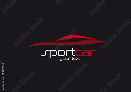 Logo vendita auto sportive Poster