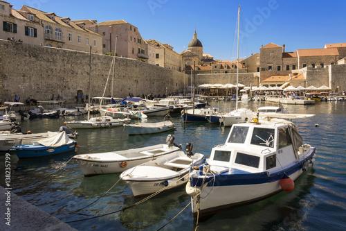 Dubrovnik Old Town marina Poster