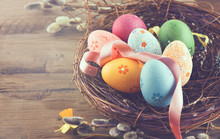 Easter Background. Beautiful C...