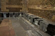 Roma Latrines Ostia Antica Italy