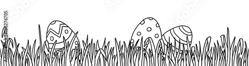 Ausmalbild Ostern Wiese Buy This Stock Illustration And