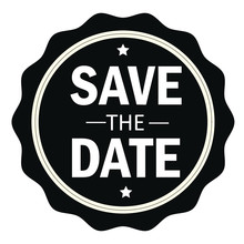 Save The Date Stamp.Sign.Seal....