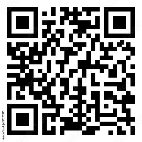 Sample qr code icon - Vector - Buy this stock vector and