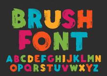 Color Capital Handwritten Vect...