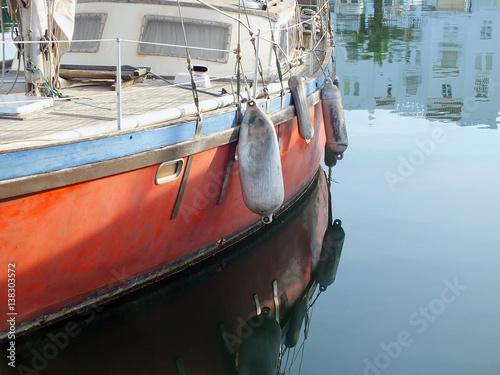 Fotografía  barco en almerimar
