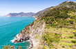 Wonderful landscape of Cinque Terre Coast, Italy