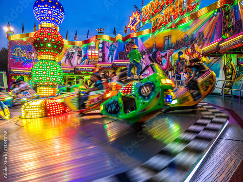 Photo  Kirmes-Trubel