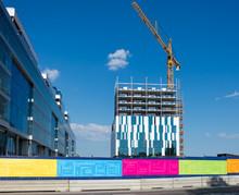 Nya Karolinska Sjukhuset I Solna Under Uppförande