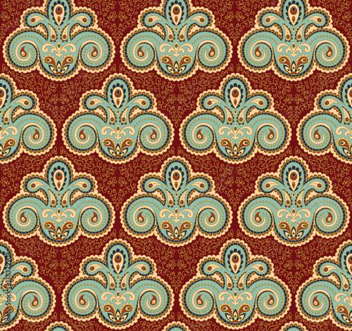 Vintage paisley seamless pattern Slika na platnu