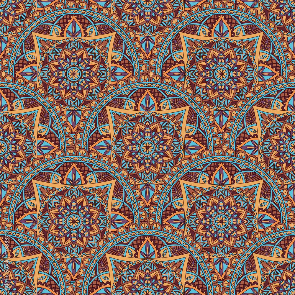 Fotografija  Vintage mandala seamless pattern