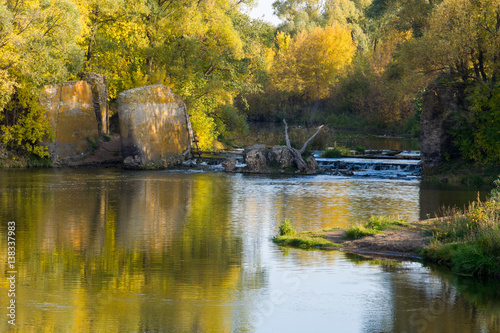 Foto op Aluminium Draken A wonderful time to fall