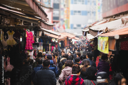 Traditional Asian market.