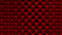 Red Looping Seamless Art Deco BG