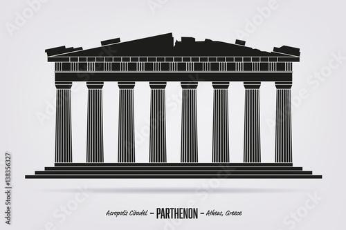Obrazy Ateny  partenon-cytadela-akropolu-w-atenach-grecja