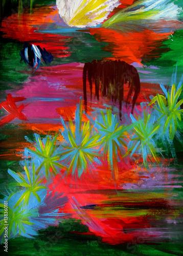 oryginalny-obraz-akrylowy-abstrakcja-w-wielu-kolorach