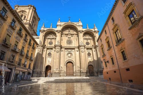 Granada Cathedral. Plaza Pasiegas, Granada, Andalusia, Spain