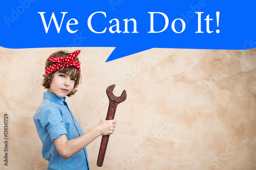 Photo  We can do it