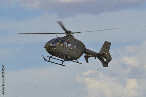 Türaufkleber Hubschrauber Helicóptero Eurocopter EC-135 T2+