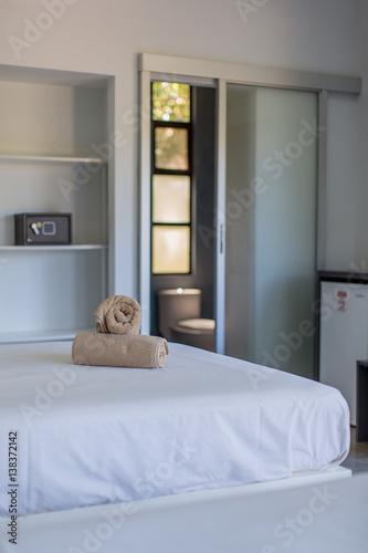 Fototapety, obrazy: Clean Hotel Room