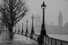London, Big Ben, Houses Of Par...
