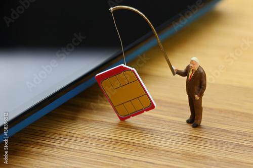 Fényképezés SIMカードの盗難
