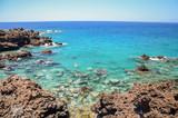Fototapeta Fototapety z morzem do Twojej sypialni - Przepiękna skalista zatoczka w Playa de San Juan na Teneryfie