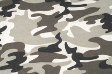 Knitted Fabric Texture. From A Military Coloring