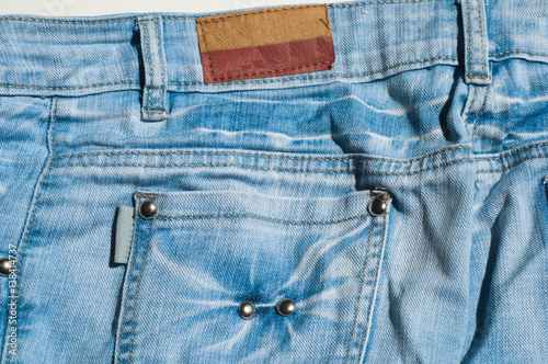 Photographie  texture of denim products