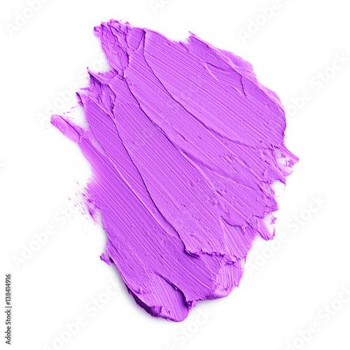 Papiers peints Pansies Purple color lipstick stroke on background