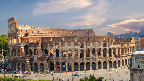 Colosseum in Rome, Italy Wallpaper Mural