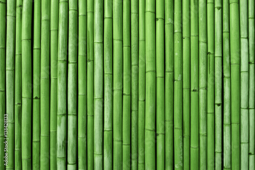 Photo sur Toile Bambou bamboo fence background