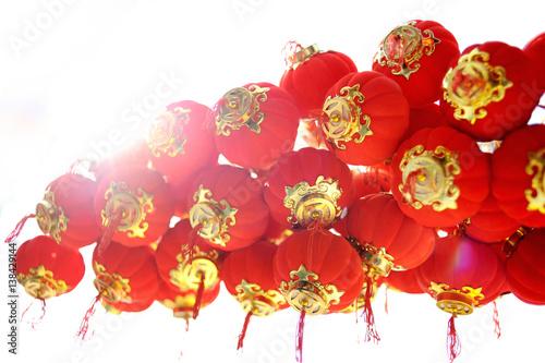 Small Chinese lanterns Poster