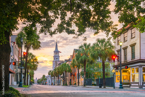 Canvas Prints American Famous Place Charleston, South Carolina, USA