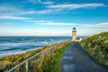 North Head Lighthouse At Pacif...