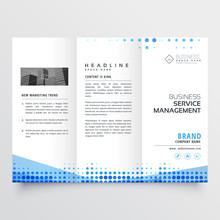 Clean Tri-fold Brochure Design...