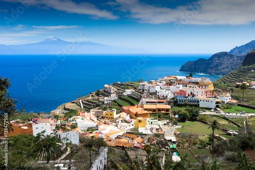 Fotografia  La Gomera, Agulo, Spanien, Teide