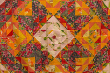 Traditional Old Russian Pattern. Patchwork