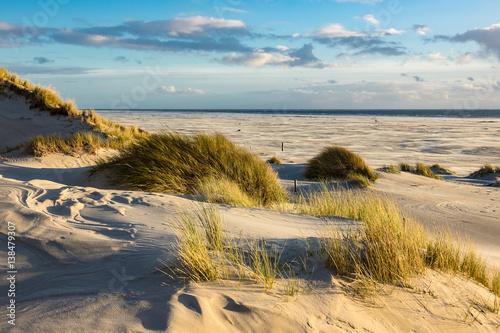 Foto op Plexiglas Noordzee Landschaft mit Dünen auf der Insel Amrum
