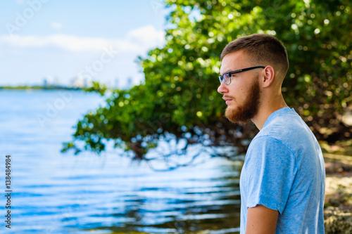 Fotografie, Obraz  Handsome young man