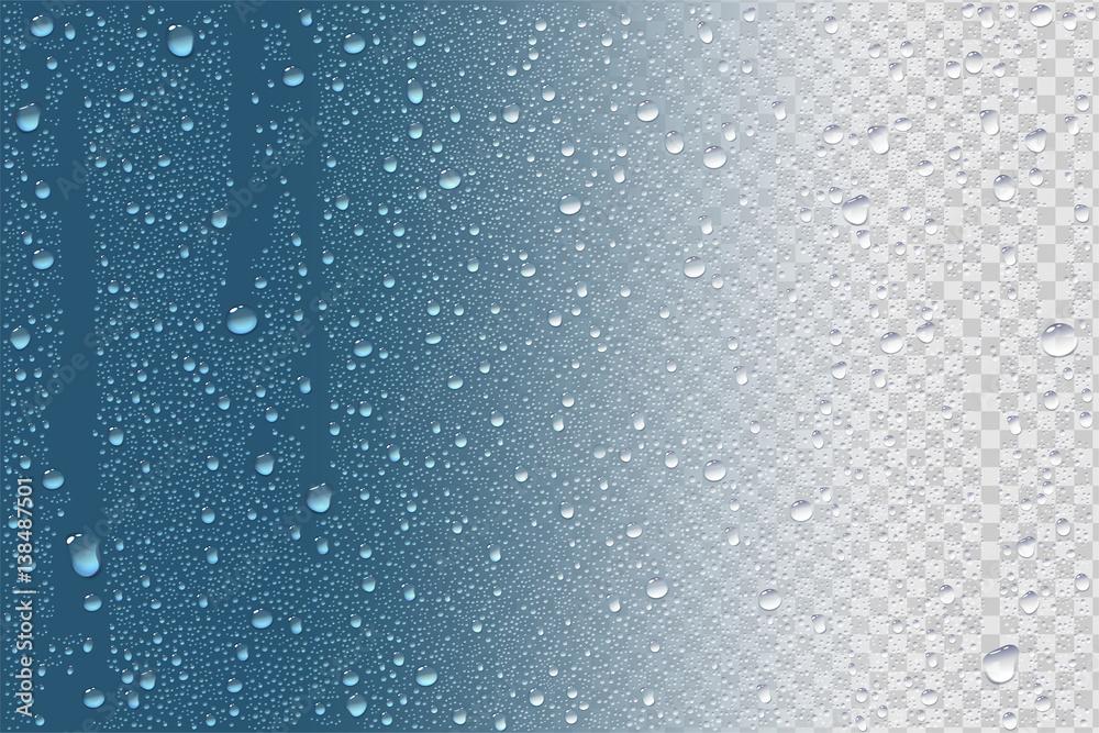 Fototapety, obrazy: Raindrops Or Vapor