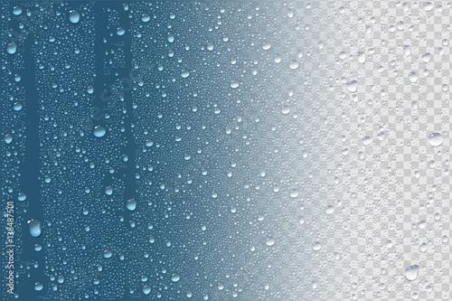 Raindrops Or Vapor