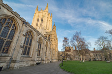 St Edmundsbury Cathedral In Bury St Edmunds, East Anglia, UK