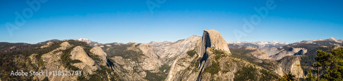 Photo  Yosemite National Park Panorama