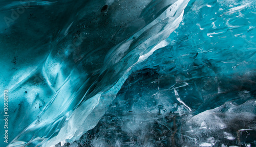 Fényképezés Blue ice