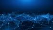canvas print picture - Concept of Network, internet communication. 3d illustration