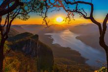 Mae Ping National Park At Sunr...