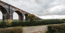 Corby Bridge Or Wetheral Viaduct In England
