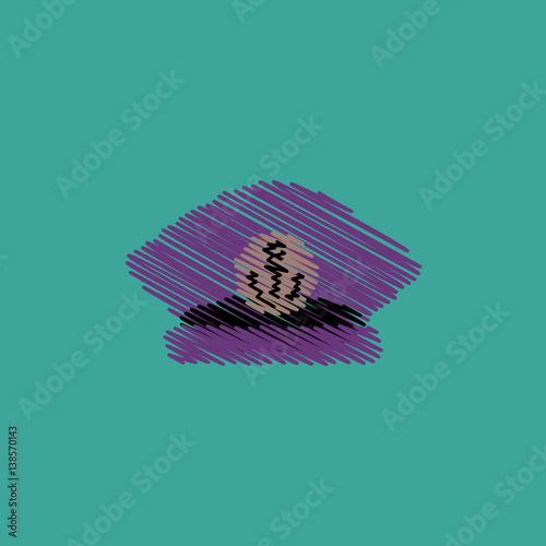 Photo  flat vector icon design collection sea cap